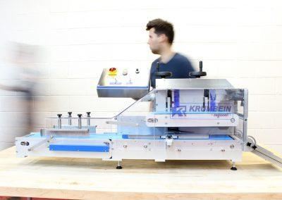 KRUMBEIN | Hinge Cut Horizontal Tabletop Slicer | Compact