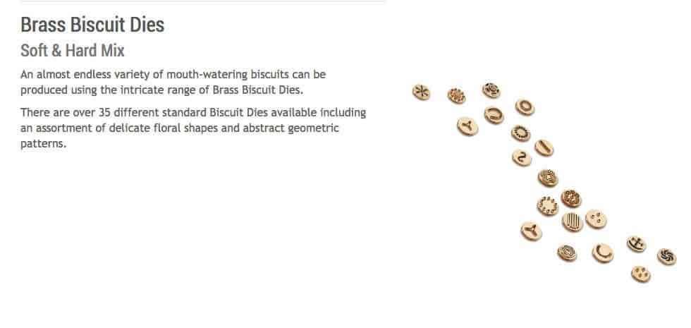 Brass Biscuit Dies