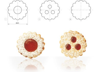 Janssen Linzer Cookies