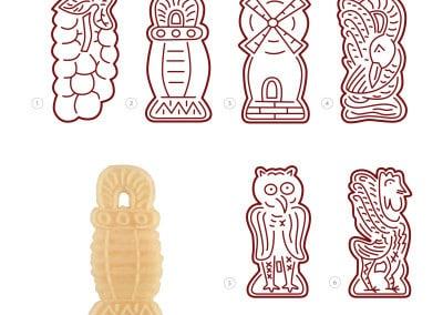 Embossed & Imprinted Cookies