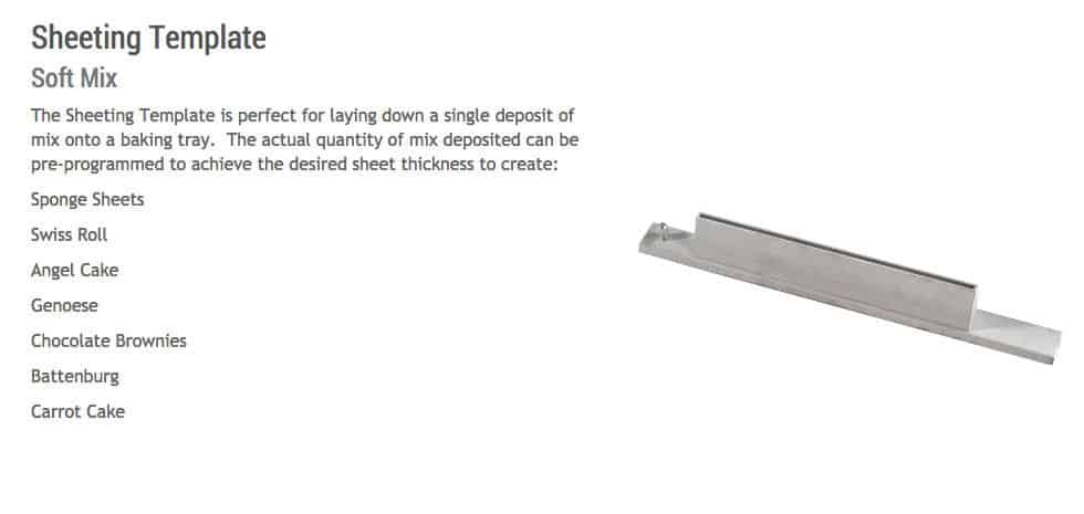 Sheeting Template