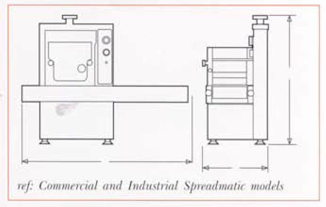 Deighton Spreadmatic Technical Drawing