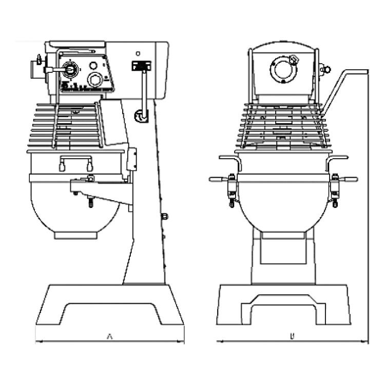 erika planetary b mixer diagram erika record baking. Black Bedroom Furniture Sets. Home Design Ideas