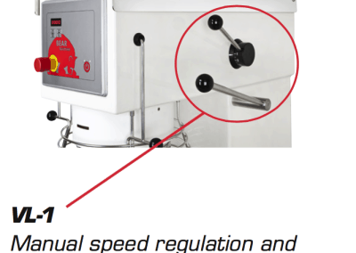 Manual Speed Regulation