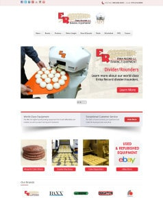 NJ Bakery Equipment Distributor Launches New Website