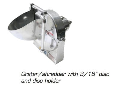 Varimixer | V-Series Planetary Mixer Grater Attachment