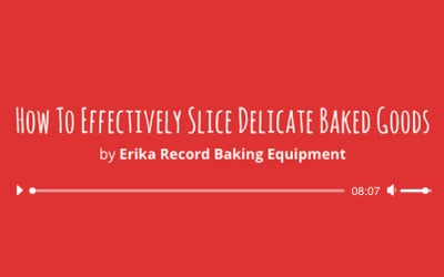 How To Effectively Slice Delicate Baked Goods In A Mass Production Bakery