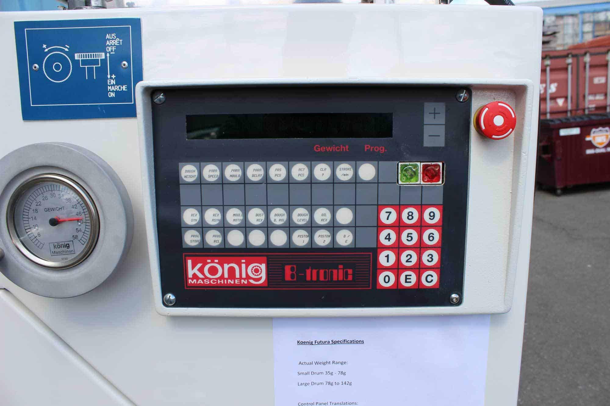 Used Konig Machine Rebuilt Koenig Rex Futura 4 Row