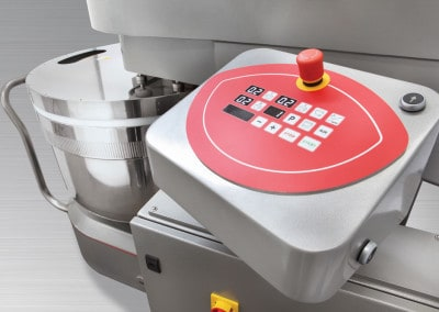 LP Group | LUX-R, Reinforced Removable Bowl Spiral Mixer, Electronic Controls