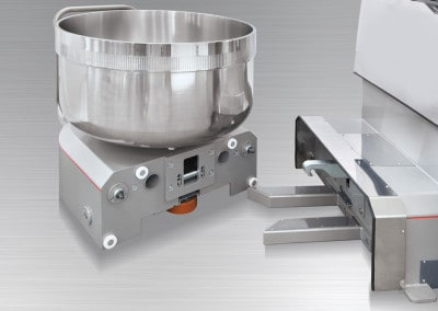 LP Group | LUX-R, Reinforced Removable Bowl Spiral Mixer, Bowl Coupling