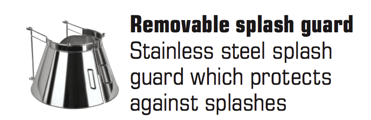 Removable Splash Guards