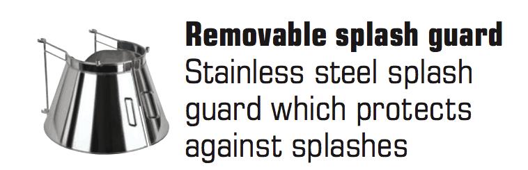 Removable Splash Guards