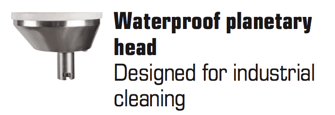 Waterproof Planetary Head