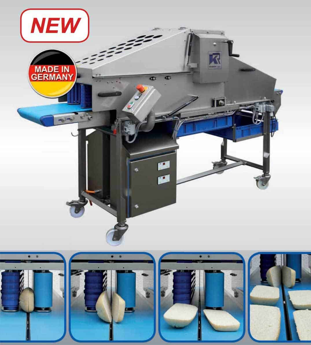 KRUMBEIN | Vertical Slicing Machine | Sandwich Processing