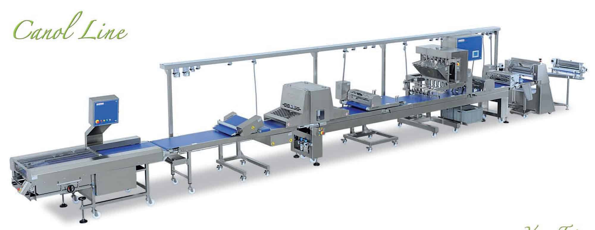 Canol | Complete Pastry Production Line | Makeup Tables | Bakery Equipment