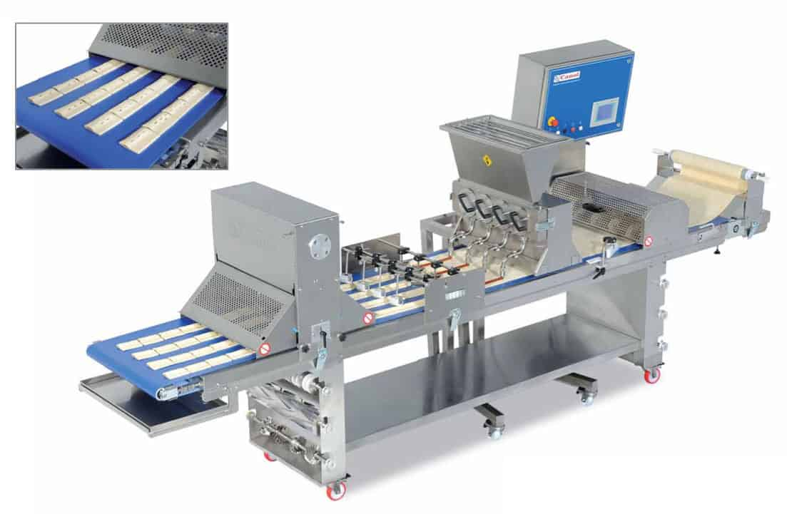 Canol | Compact Pastry Production Line | Makeup Tables | Bakery Equipment