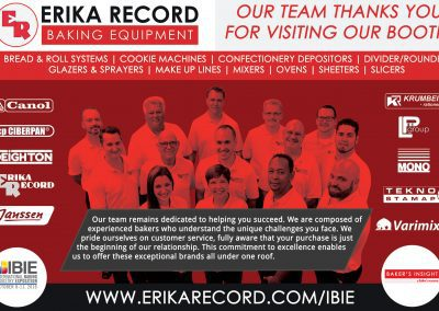 Erika Record Baking Equipment