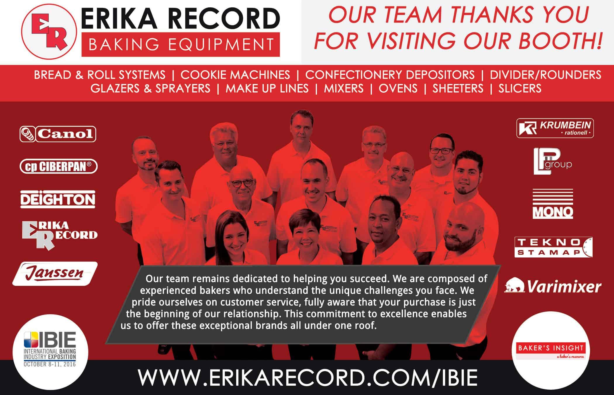 IBIE 2016 Recap | Baking Expo Summary | Bakery Equipment | Erika
