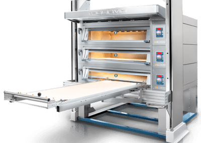 Electric Deck Oven with Integrated Loader