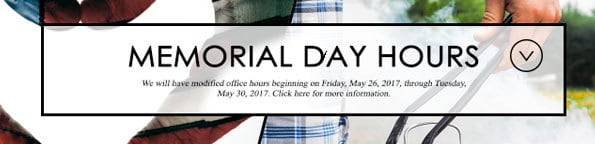 Memorial Day 2017 | Office Hours