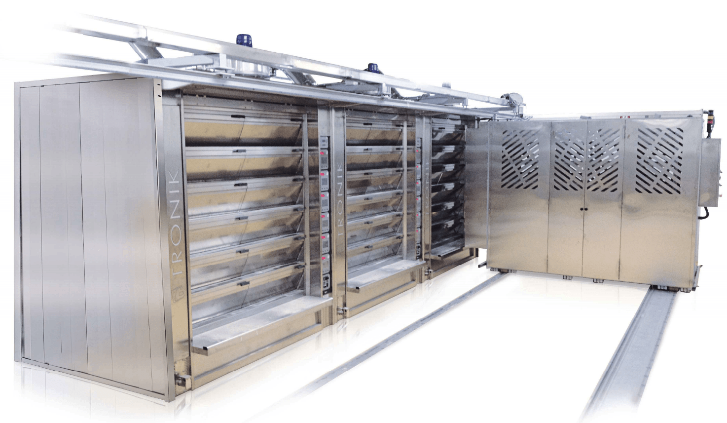 Tagliavini | Industrial Oven Loader| Multi-Deck Oven Loader | Bakery Equipment