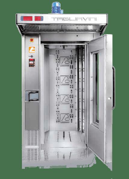 Tagliavini | Rotor Industrial Rack Oven | Bakery Equipment