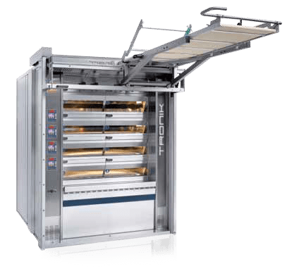 Tagliavini | Tronik Electric Commercial Deck Oven | Solar, Energy Saving Bakery Equipment