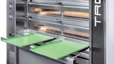 Tagliavini Tronik | Electric Deck Oven | Pan Holders