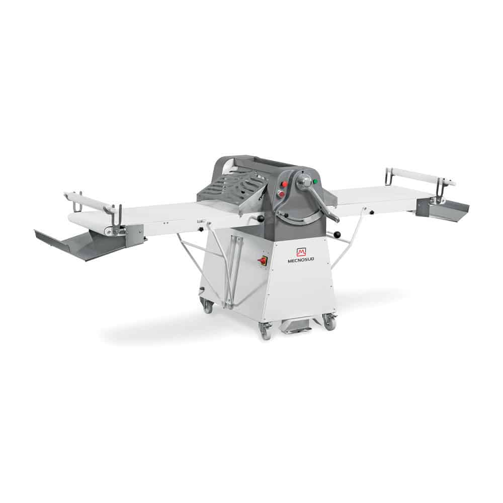 Mecnosud | SF600 Series Reversible Pastry Sheeter with Optional Cutting Attachment