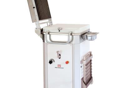 Mecnosud   DV Series Hydraulic Dough Divider With Grid System