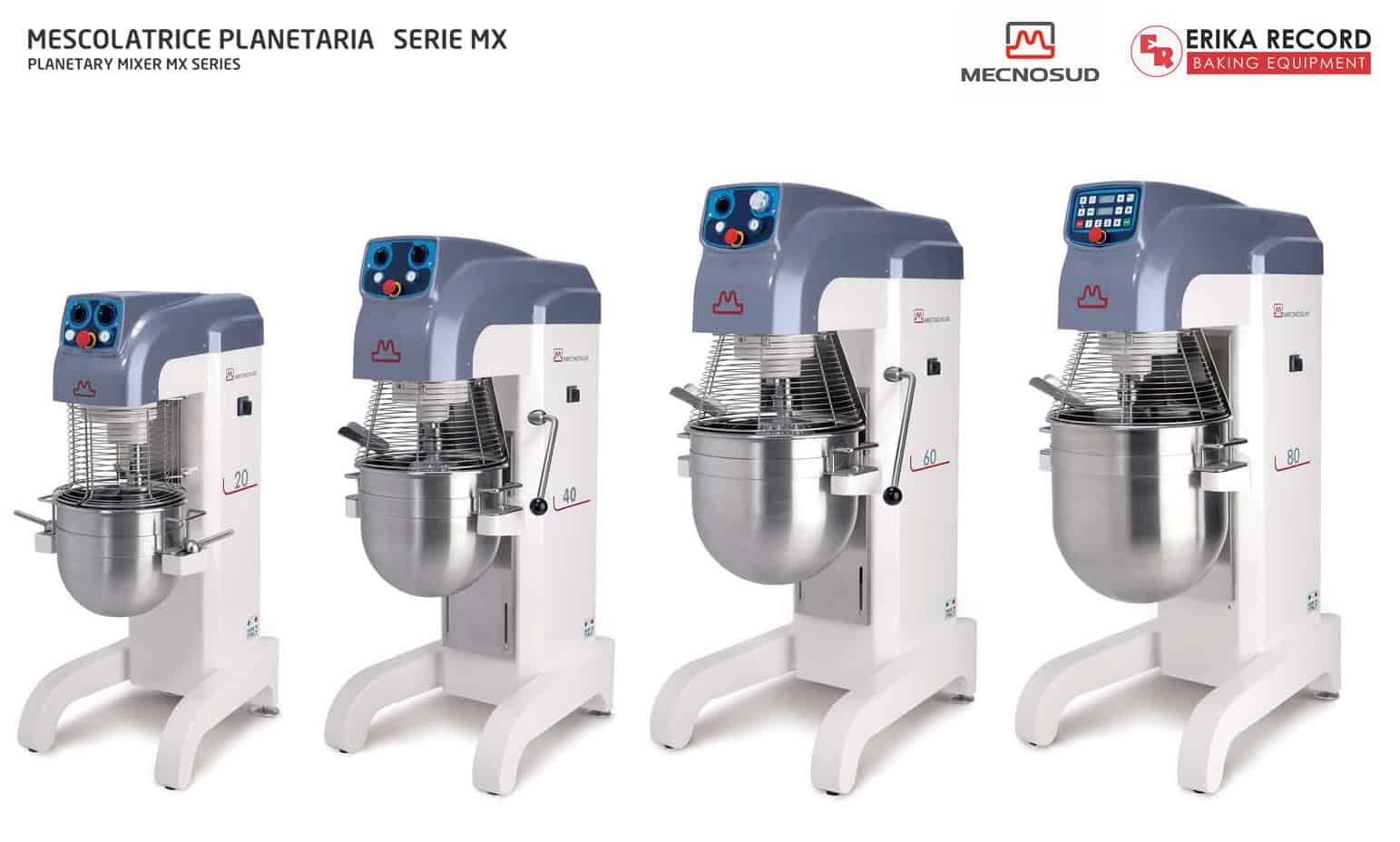 Mecnosud | Planetary Mixers for Bakery, Restaurant, Pizzeria