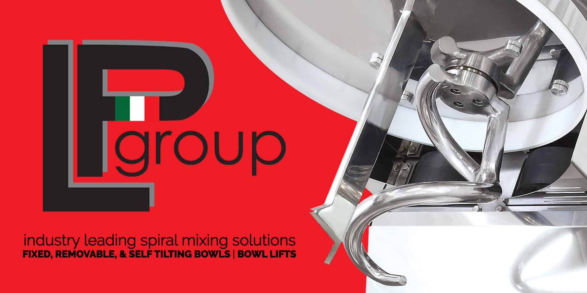LP Group | Spiral Mixers & Bowl Lifts