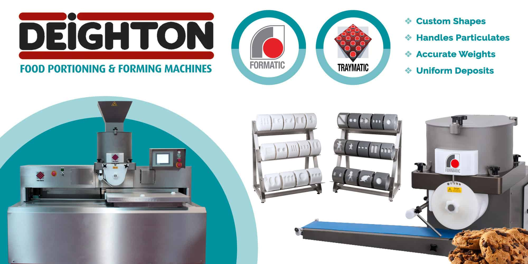 Deighton Manufacturing | Formatic | Cookie Machines