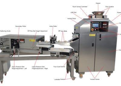 Gemini Roll Plant   Bread Moulder   Divider Rounder