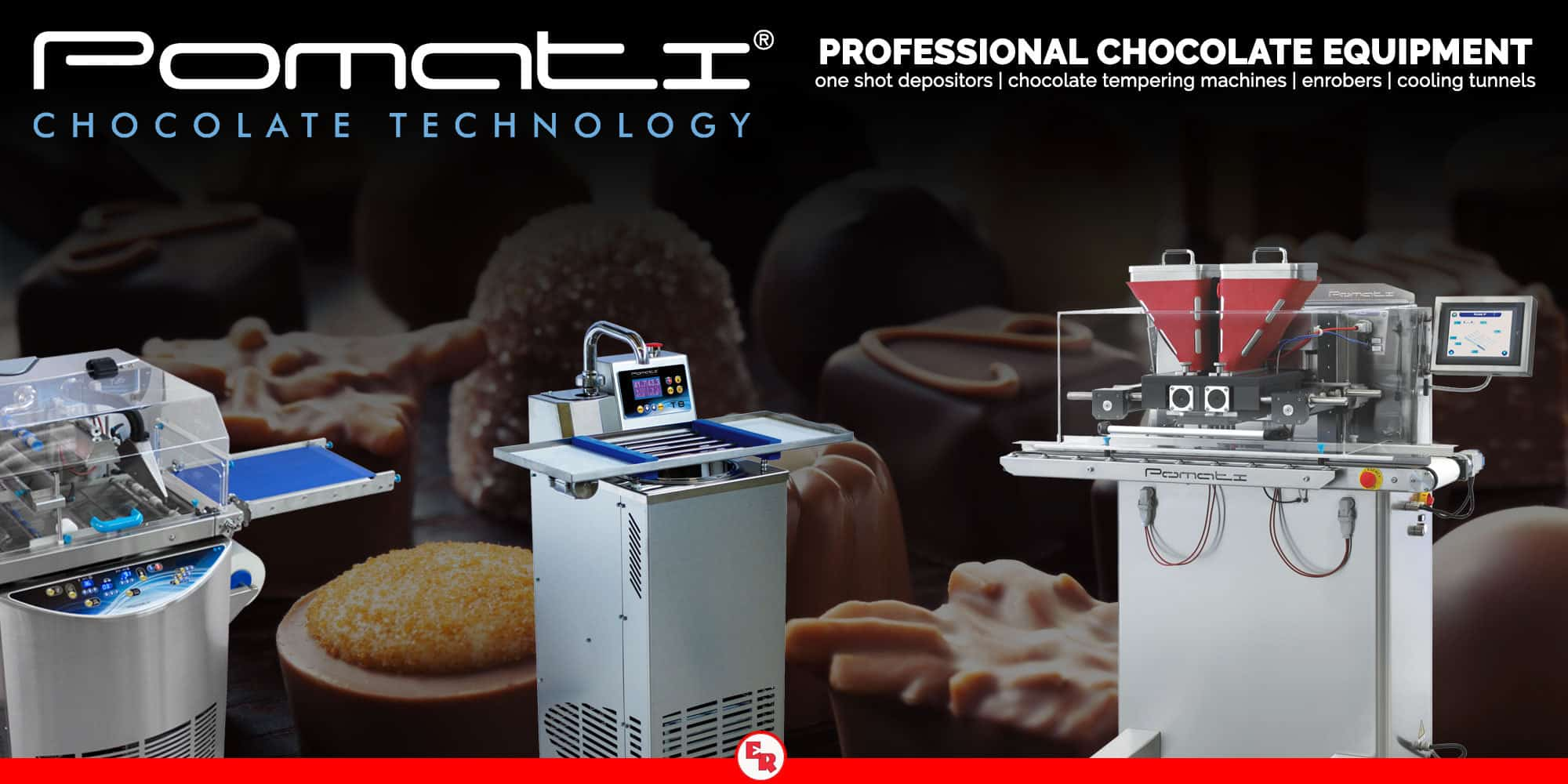 Pomati | Professional Chocolate Equipment