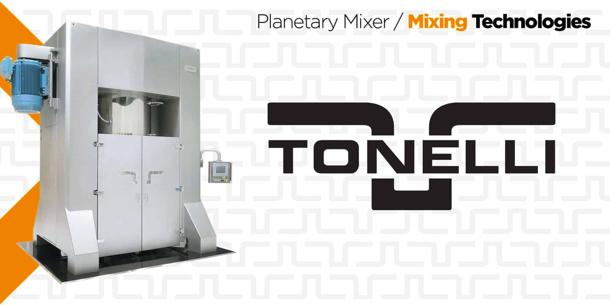 Tonelli | Vertical Planetary Mixers