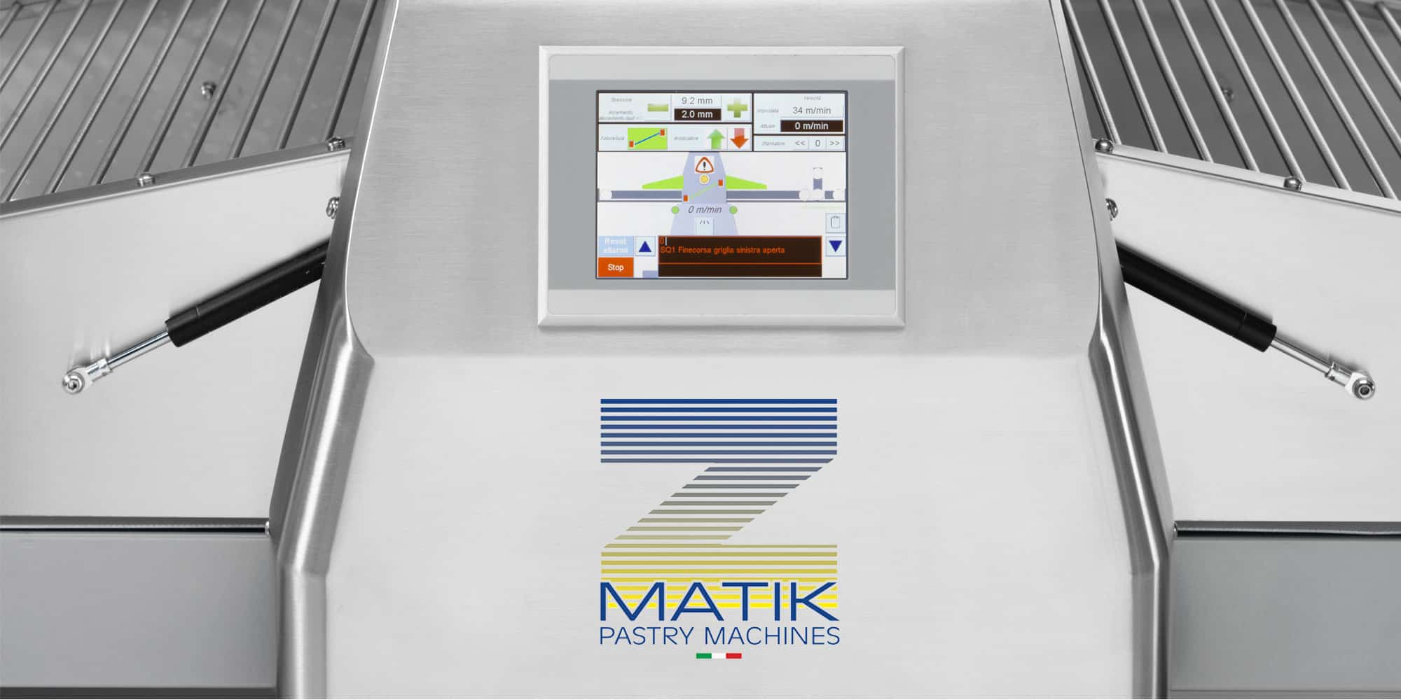Reversible Sheeters | ZMatik Pastry Machines