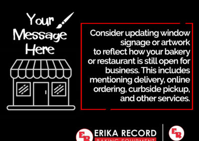 Explore Using Window Art & Signs to Attract Customers