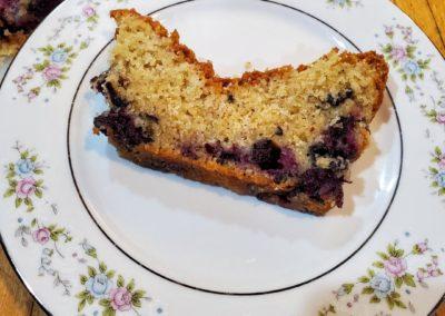 Test Baker's Corner – Blueberry Quick Bread