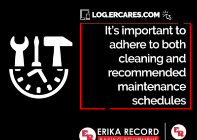 Maintenance Schedules